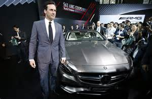 Jon Hamm Mercedes Jon Hamm S It Up With New Mercedes Nbc News