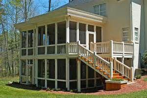Screened In Patio Kits Wheeler Builders Decks Screened Porches And Patios For