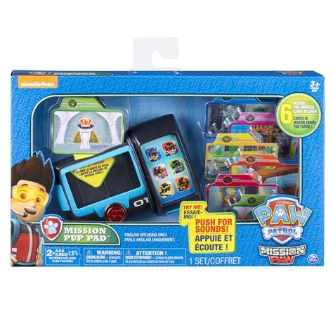 speelgoed paw patrol paw patrol mission paw mission pup pad toys