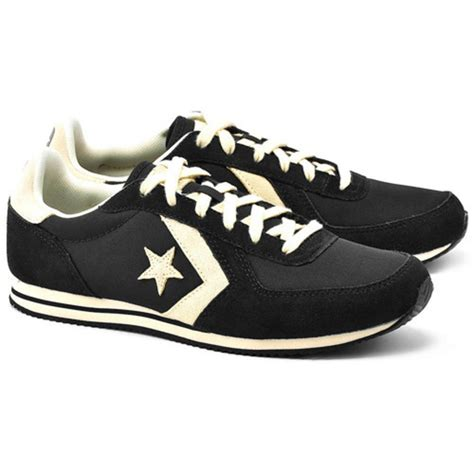 Convers Arizona Racer Size 45 converse arizona racer retro running shoe trainer suede black adaptor clothing
