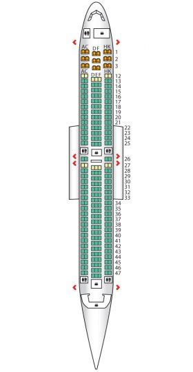 767 300 seating air canada air canada seating plan images