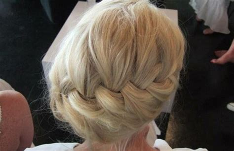 plait at back of hairstyle french braid hairstyles weekly