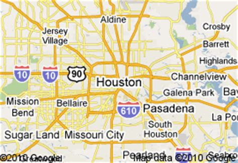 houston mapa sintiendo houston