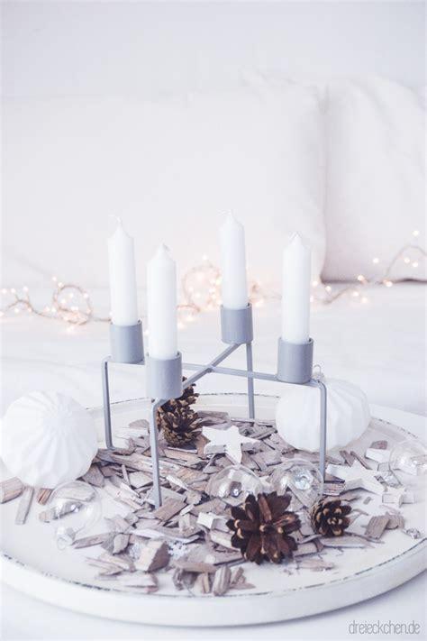 kerzenhalter skandinavisch adventskranz inspiration kerzenhalter mit stabkerzen