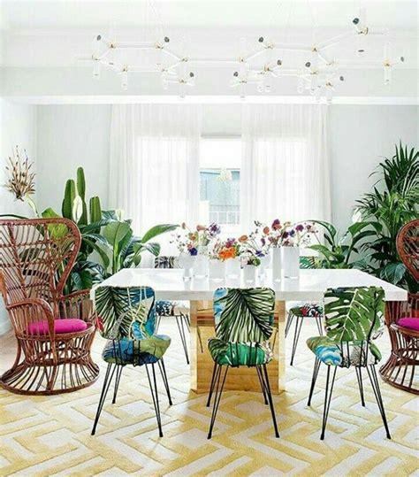 pin  raha   glam living tropical dining room