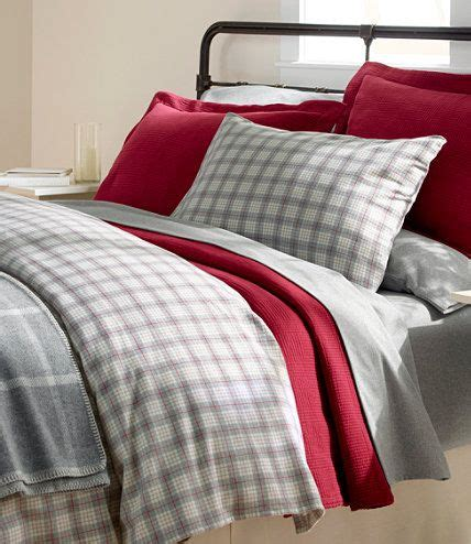 llbean comforter cover heritage chamois flannel comforter cover plaid comforter