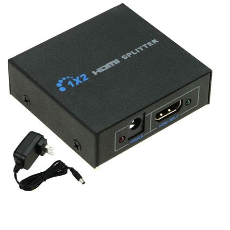 Hdmi Lifier Repeater hd 1x2 port hdmi splitter lifier repeater 3d 1080p for hdtv in hdmi from consumer