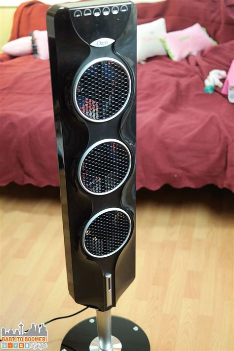 ozeri 3x tower fan ozeri 3x tower fan air flow and cooling year