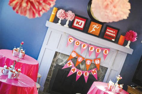Hiasan Dinding Wall Decor Coffee Themed Collage Special Pack dunkin donuts theme 50th birthday hostess with