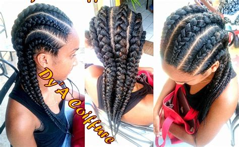 cornrows with individual braids in the back how to 6 straight back feed in cornrows from different
