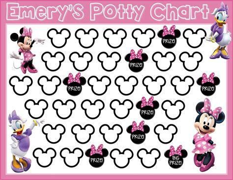 Potty Sticker Chart