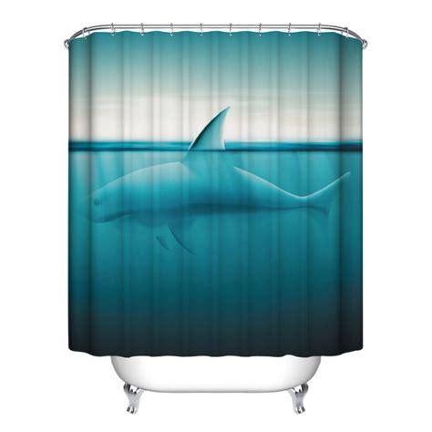 fish shower curtain hooks ocean fish theme waterproof shower curtain with 12 hooks