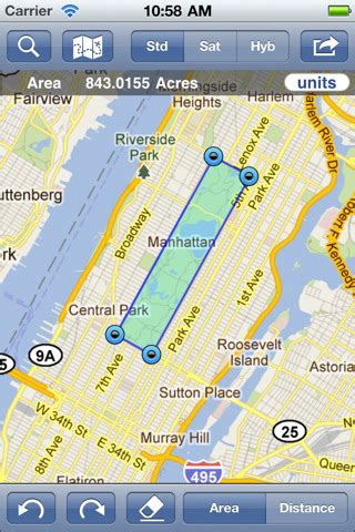 5 cool map distance measurement apps for ios