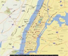 Manhattan Island Map New York by Jerry Smetzer S Web Site And Travel Pix