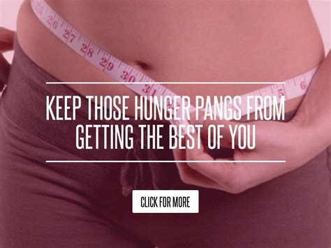 Keep Those Hunger Pangs From Getting The Best Of You by Keep Those Hunger Pangs From Getting The Best Of You Diet