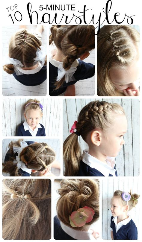 and easy hairstyles for school for hair 10 easy hairstyles for somewhat simple