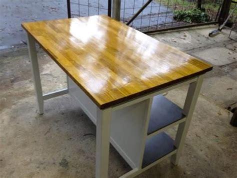 ikea freestanding kitchen island bench breakfast bar oak