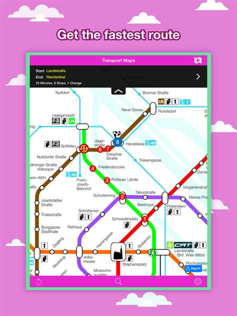 aa route planner printable version vienna transport map u bahn map route planner app
