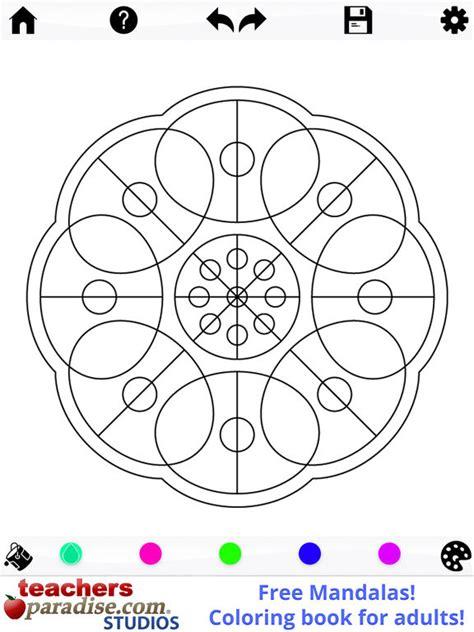 mandalas coloring book app app shopper mandalas coloring book
