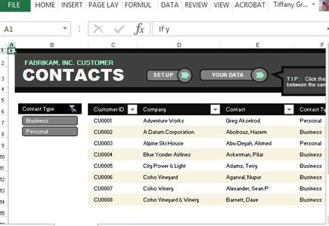 Customer Contact List Template For Excel Customer Service Email Templates Free