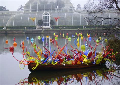 chihuly boat house file chihuly glass in boat morning palm house geograph org uk 297500 jpg