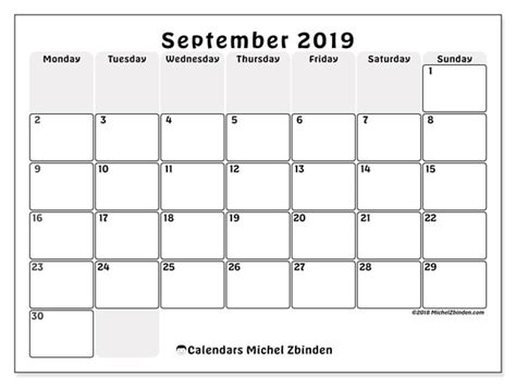 september  calendars ms michel zbinden en