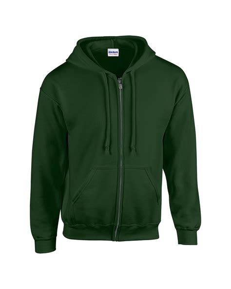 Jaket Zipper Hoodie Fleece gildan plain new mens zip up hoody fleece heavy blend