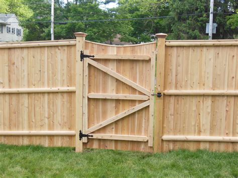 fence gate designs cedar lattice with gate fences