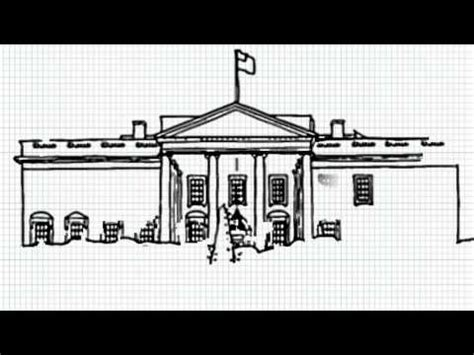 how to draw the white house how to draw white house video the white house united