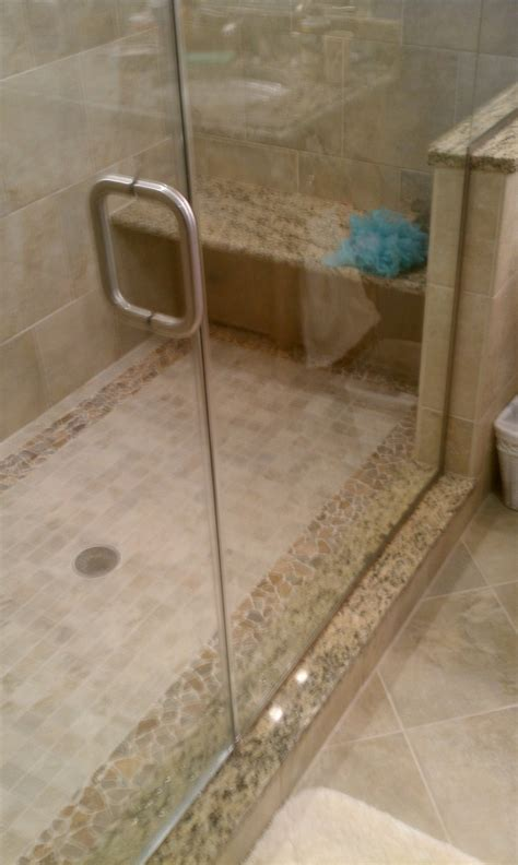 custom shower bench seamless glass shower doors granite bench in custom