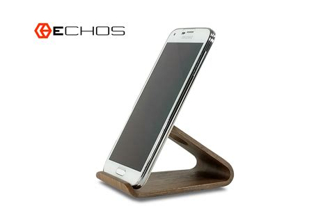 Modern Wooden Curve Desk Phone Stand Www Echosusa Com Desk Phone Stand
