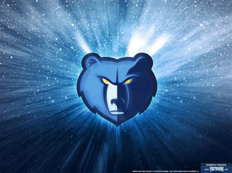 memphis grizzlies logo wallpaper posterizes nba