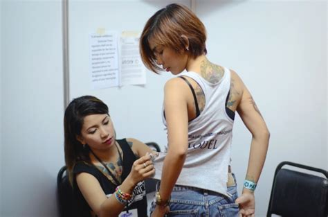 female tattoo artist indonesia photos tattoo enthusiasts get to the point in manila