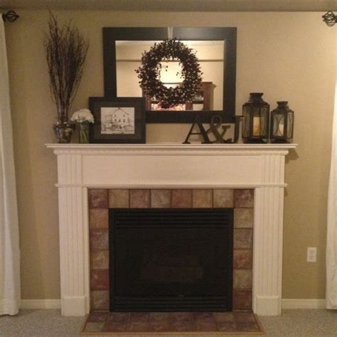 Decorated Fireplace Mantels For by 25 Best Ideas About Mantle Decorating On