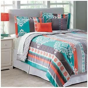 view living colors queen 5 piece reversible comforter