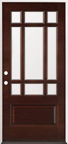 Pre Stained Interior Doors Wood Doors Craftsman And Doors On