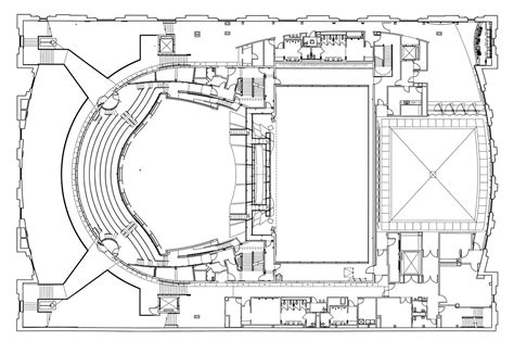 architecture photography auditorium floor plan gallery of ellie caulkins opera house at the quigg newton