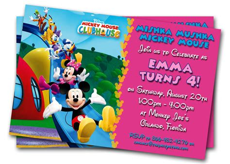 printable toddler birthday invitations minnie mouse birthday invitations printable custom kids