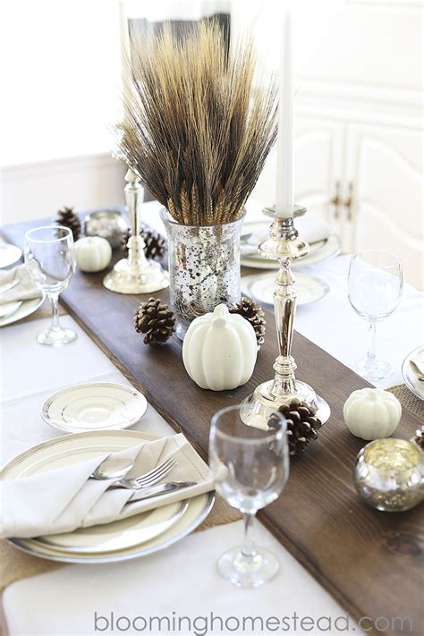 holiday table decorations you can make