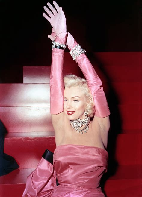 marilyn monroe gentlemen prefer blondes marilyn s dress sells for over 163 200 000 beauty bombshells