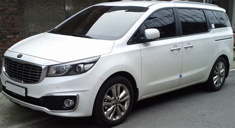 Kia Carnival Uk Photo