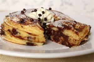 chocolate chip pancakes popsugar food