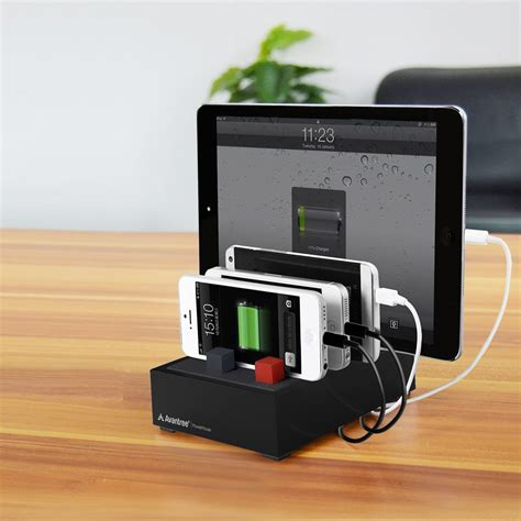 writing desk with charging station avantree powerhouse desk usb charging station black us