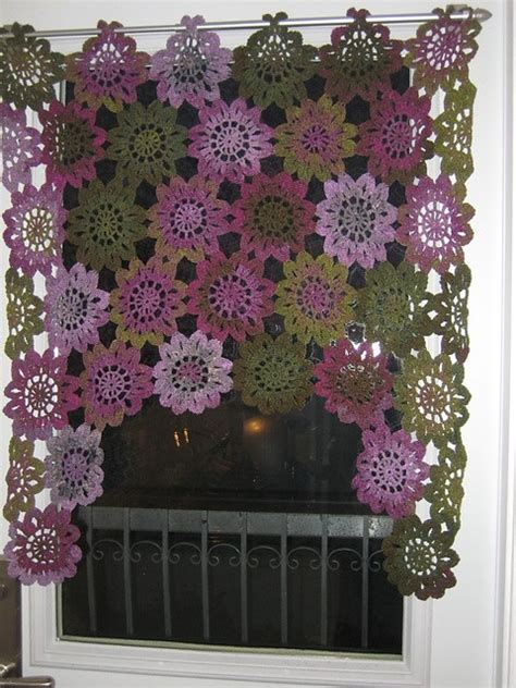 pretty drapes pretty crochet drapes
