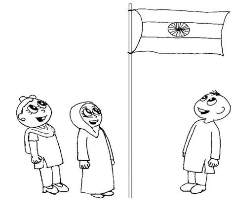 india coloring pages pdf india flag printable coloring page for kids