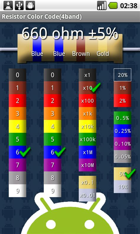 resistor color code apps resistor color code s2
