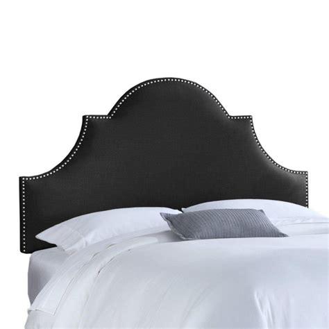 black linen headboard skyline furniture upholstered queen headboard in linen