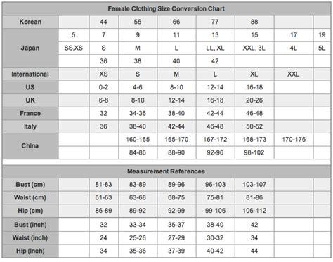 convert a size womens dress measurements chart brilliant brown womens