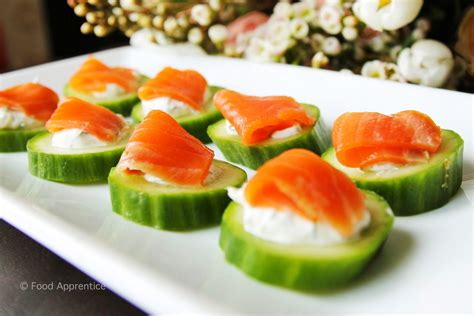 food apprentice smoked salmon cucumber canap 233 s food
