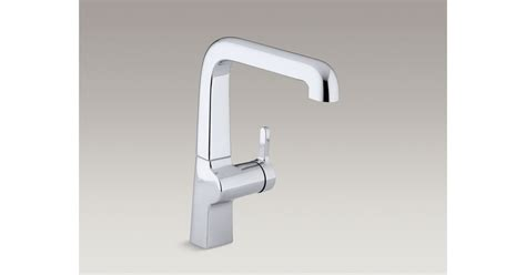 kohler evoke kitchen faucet evoke single handle kitchen sink faucet k 6333 kohler